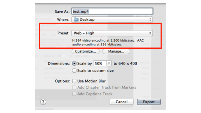 ScreenFlow Web Exports: What do All the Settings Mean?