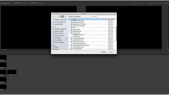 Wirecast 5 Workflow Tutorial