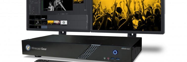 Introducing Wirecast Gear live streaming production system