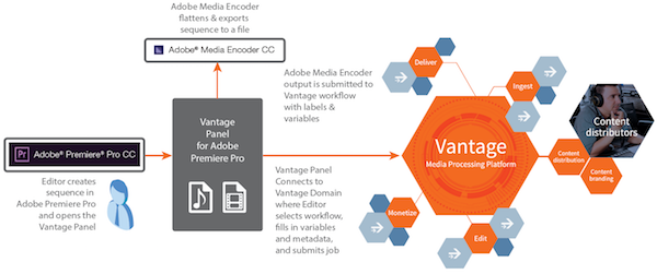 Vantage Panel for Adobe Premiere Pro CC
