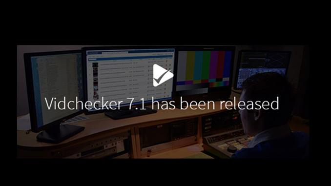 Vidchecker 7.1 Release