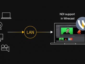 NDI Support in Wirecast