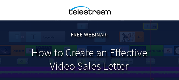 Webinar How To Create An Effective Video Sales Letter