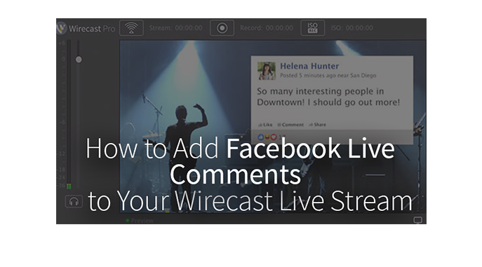 how to stop comments of facebook live stream