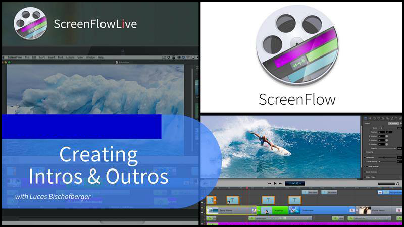 Creating Intros and Outros for your Videos with ScreenFlow